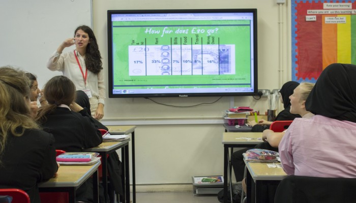 Maths Lesson with External Visitor-min